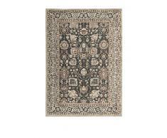 ABC Tappeti Teppich Florentine Elegance grau/elfenbein 140Â x 200Â cm