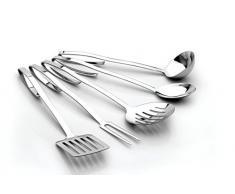 Berghoff 3501275 Neo Küchenutensilien, 6 Stück