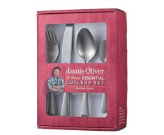 Jamie Oliver 555224 Besteck-Set, gebürstet