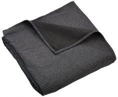 Zebra Textil Sofa, Grau