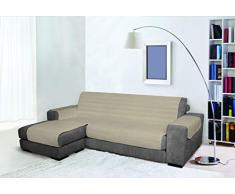 Sofabezug, wasserdicht, doppelseitig, 190 cm, Taubengrau