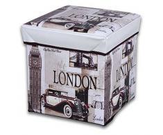 JOCCA Box Polsterhocker LONDON Box Puff Beige