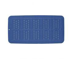 Sealskin Unilux Badewanneneinlage, Sicherheitseinlage für Badewanne und Dusche, Farbe: Royalblau, Größe: 70x35 cm