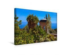 Premium Textil-Leinwand 45 x 30 cm Quer-Format Pavillon   Wandbild, HD-Bild auf Keilrahmen, Fertigbild auf hochwertigem Vlies, Leinwanddruck von Bernd Zillich