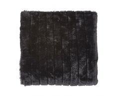 Plaid Yorick 130x180 cm schwarz - Tagesdecke Sofa überwurf Decke Decken Bettüberwurf