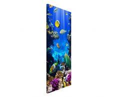 Apalis 108701 Magnettafel Underwater Dreams Memoboard Design Hoch Metall Magnet Pinnwand Motiv Wand Stahl Küche Büro, 78 x 37 cm