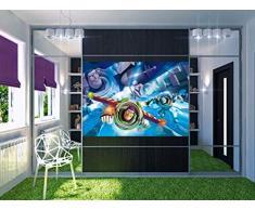 AG Design FTDm 0712 Toy Story Disney, Papier Fototapete Kinderzimmer- 160x115 cm - 1 Teil, Papier, multicolor, 0,1 x 160 x 115 cm