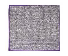 RIDDER 7021813-00 Fresh Badteppich, Teppich, Vorleger, Polyester, lila, ca. 55x50 cm