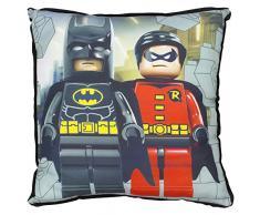 LEGO DC Super Heros Kapow quadratisch Kissen, Polyester, mehrfarbig