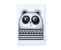 Jane Foster Panda Geschirrtuch