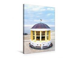 Premium Textil-Leinwand 50 x 75 cm Hoch-Format Pavillon mit Weihnachtsbaum   Wandbild, HD-Bild auf Keilrahmen, Fertigbild auf hochwertigem Vlies, Leinwanddruck von Andrea Dreegmeyer