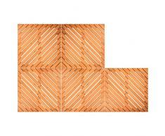 Set von Korkböden Holz Waterproof 5 Stück