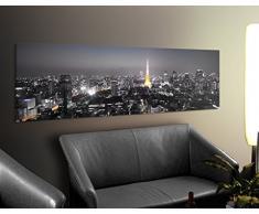 Apalis 42129 Leinwandbild Nummer 205 Tokio, 120 x 40 cm