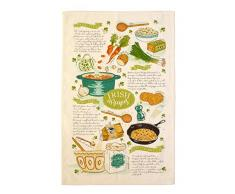 Ulster Weavers Geschirrtuch, Motiv Irish Recipes, Baumwolle