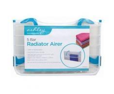 Ashley Housewares Ashley BB-RA222 Wäscheständer für Heizkörper, Stahl, Weiß