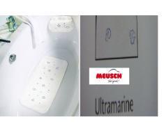 Meusch 2180722002 Duscheinlage Sealife, 55 x 55 cm, ultramarine