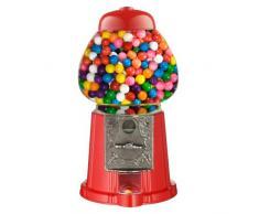 Great Northern 15 Zoll Vintage Candy Gumball Maschine und Bank, mit Ständer, jeder liebt Gumballs, rot, 15-Inch