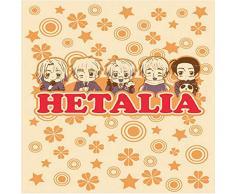 Great Eastern Entertainment Hetalia America, Frankreich, Russland und China Überwurf Decke, Baumwolle, Mehrfarbig