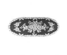 "Heritage Lace Läufer ""Viktorianische Rose"", Ecru, ca. 33 x 91,5 cm, Spitze, Natur, 13 x 36-Inch"