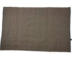 Jute & Co. Teppiche Nice Teppich, Farbe, 100% Baumwolle, blau, schwarz und grau, one Size