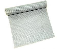 Dependable Antirutschmatte unter Teppich Grip Rutschfeste – Regal und Schublade Liner 30,5 x 91,4 cm – Trim to Fit grau