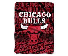 Northwest The Company NBA Chicago Bulls-Episoden Micro Raschel Überwurf, 116,8 ° cm von 152,4 cm