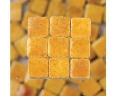 MosaicMicros 5Â x 5Â x 3Â mm 10Â G 100Â Keramik glasiert Mini Mosaik Fliesen, Honig