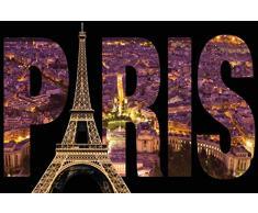 Innova FP03320 Glasbild Paris, 40 x 60 cm