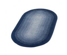 RIDDER 7503330-350 Teppich 60 x 100 cm, Polyacryl, Hawaii dunkelblau