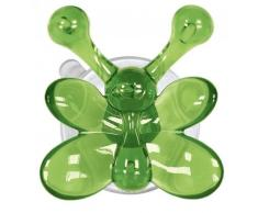 Kleine Wolke MS Kunststoff Wandhaken, grün