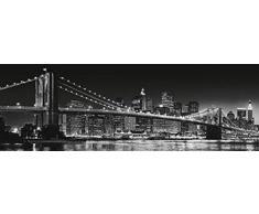 New York - Brooklyn Bridge S/W II Tür-Poster (158 x 53cm)