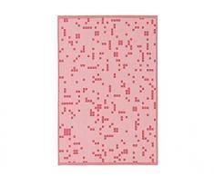 Normann Copenhagen 310656 Illusion Geschirrtuch, Baumwolle, pink, 75 x 50 x 0.5 cm