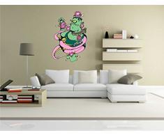 INDIGOS KAR-Wall-clm015-70 Wandtattoo fürs Kinderzimmer clm015 - Lustige kleine Monster - Riesen verrückt - Wandaufkleber 70 x 104 cm
