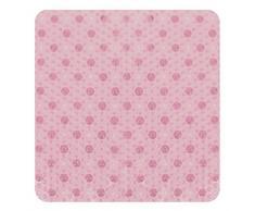 HSH® Teppich Oberflächenbeschichtung, PVC, pink, 52 x 52 cm