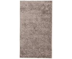 Dandy, Maße - 100 x 150 cm, Notos Shaggy Teppich, maschinenwaschbar, Silber