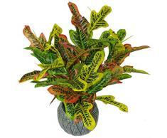 Leaf Kunstpflanze für Kodiäum, 65 cm, Mehrfarbig, 65cm Codiaeum
