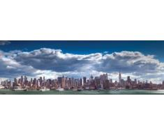 1art1 New York - Skyline Von Manhattan Tür-Poster 158 x 53 cm