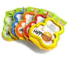 HOME 9816900 Set 3 Ausstechformen Fritt Happyegg Bär Küchenutensilien