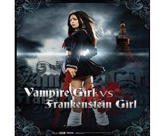 Great Eastern Entertainment Vampire Girl Vs. Frankenstein Girl Vampire Girl Wall Scroll, 33 von Blumenkasten
