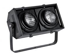HQ Power vdp6502bl Stage Blinder zu Kontrolle DMXÂ 2 Lampen DWE 120 V/650 WÂ Schwarz