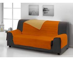 Dcasa On-Line Siena Sofabezug 3 Plätze orange/gelb