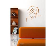 Graz Design 620421_40_041 Kühlschrank Aufkleber Wandtattoo für Küche Kalorien Zucker Fett, Größe 55 x 40 cm, Farbe 041, rosa