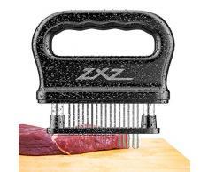 Fleischhammer, Edelstahl Nadel Tenderizer Küche Kochen Werkzeug für Rindfleisch Steak BBQ Huhn Fisch Schweinefleisch