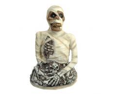 Zoelibat 97146341.001 Monster Mumie - Dekoration für Party Halloween Karneval, Standfläche Circa 44 x 36 cm, 65 cm hoch