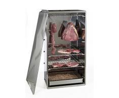 Reber 10030 N Smoker mittel, für Fleisch, Fisch, Käse, Gemüse, aus Edelstahl, grau