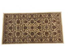 oKu-Tex Webteppich Teppichläufer Brücke Kairo | Orientmuster | Farbe: Berber | 80 x 150 cm