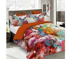 Kiosa Bettwäsche für Doppelbett 250 x 200 cm Multicolore (Ko633)