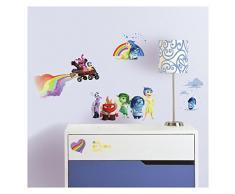 RoomMates Wandsticker / Wandtattoo für Kinder, mehrfarbig