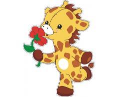 Welt der Kissen 4 Wandtattoo Giraffe, Motiv 4, Wandstickers Kinderzimmer