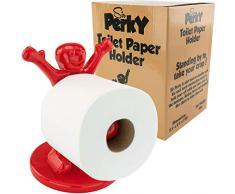 Sir Perky fon-10203 Neuheit Gag Geschenk Toilettenpapierhalter
